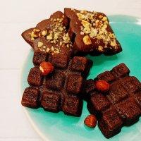 Fondant chocolat/ noisette